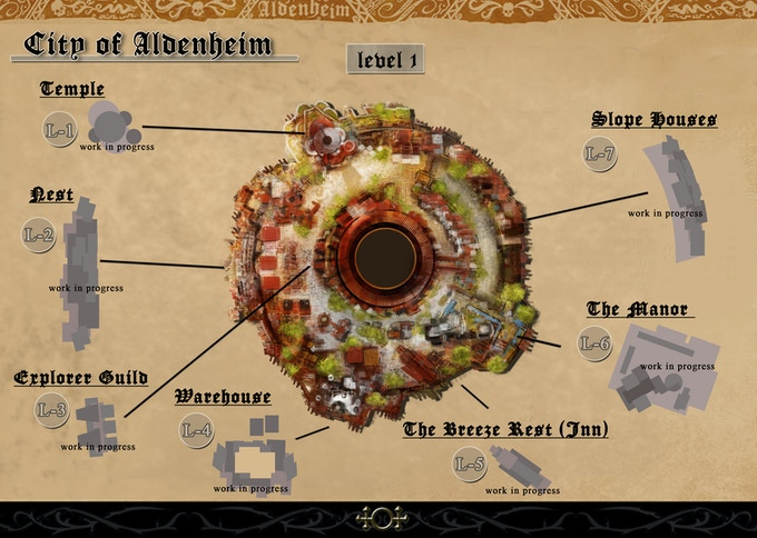 City of Aldenheim -level 1-