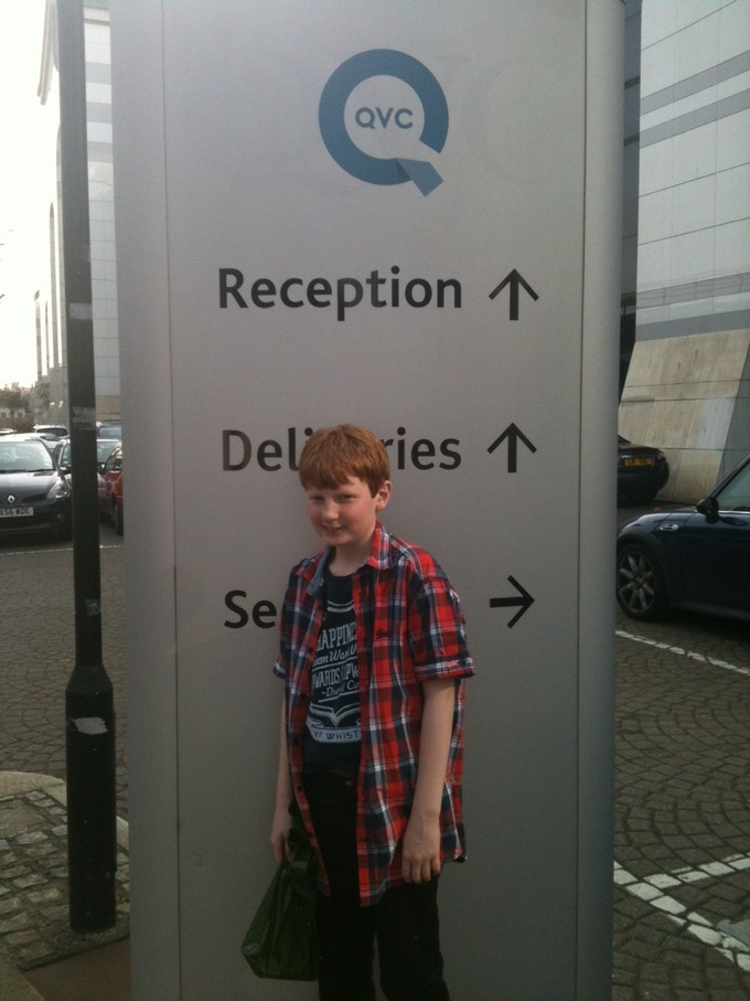 Fraser at QVC
