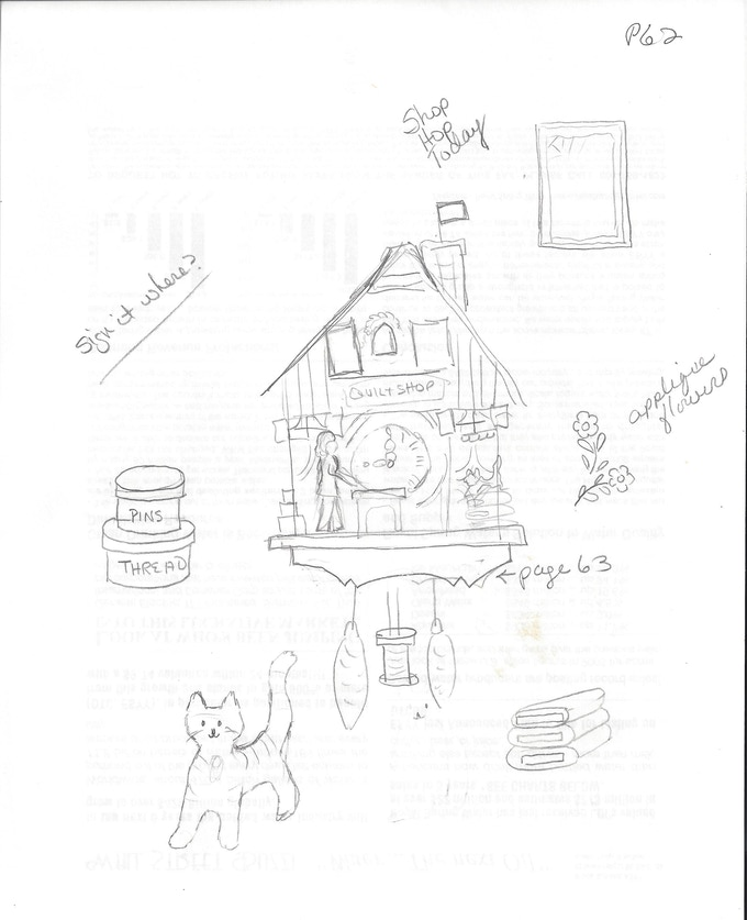 Quilt Shop Cuckoo Clock! by Jodie Davis — Kickstarter