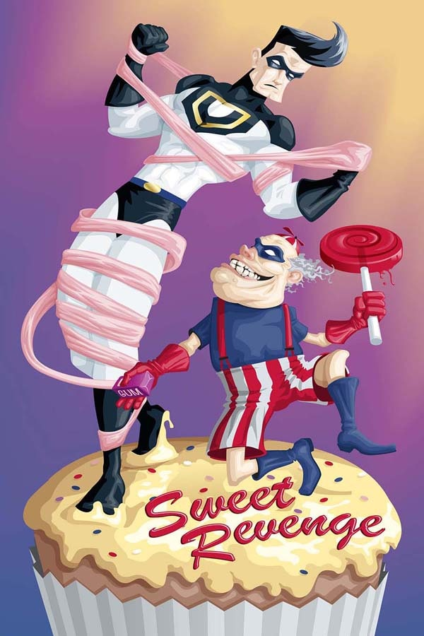 Whip Wilson vs. Sweet Tooth by Mike D. Scott