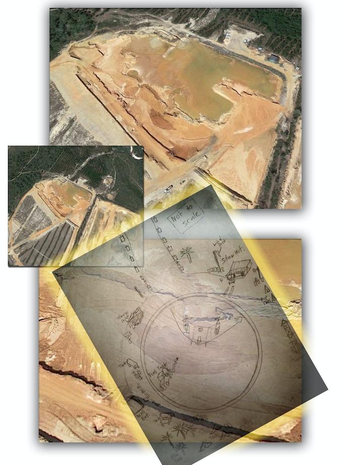Dirt Quarry - Airfield Location #1