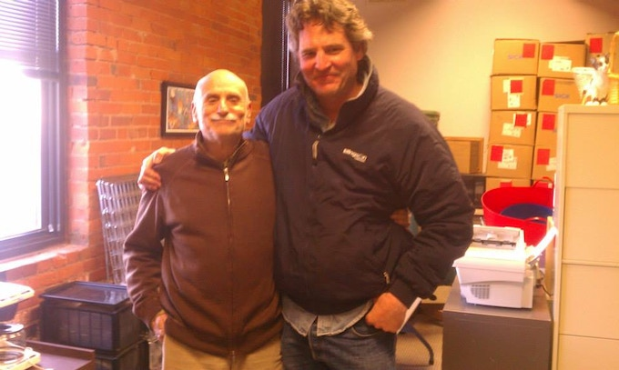 Director of Photography Lawrence Schweich & Director of Humane Society, Minnesota, Howard Goldman