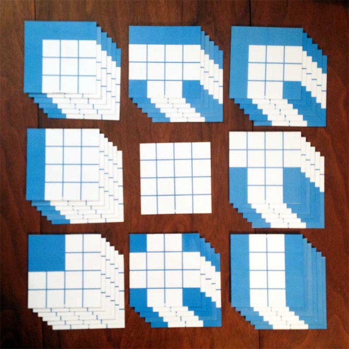 BASIC tile set - 48 tiles
