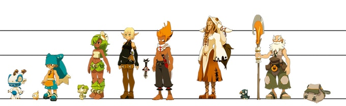 Wakfu Anime Character Design : Season