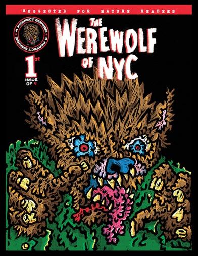 Werewolf of NYC # 1