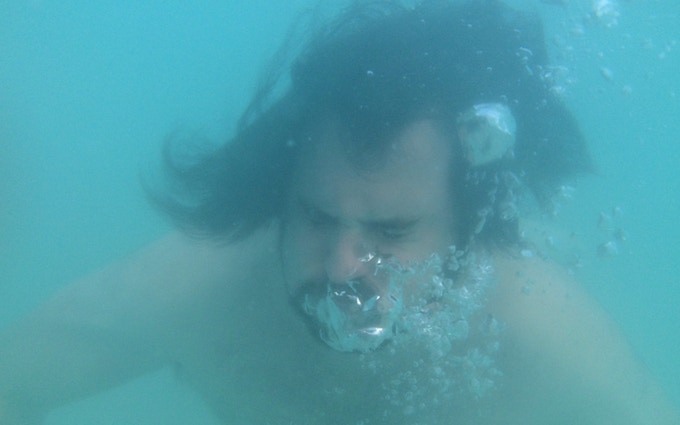 "Writer Dylan Otto. He knows about being ""underwater."""