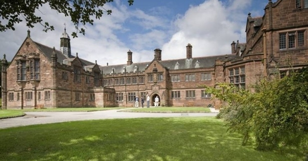 Exterior of Gladstone's Library (nee St Deiniol's Library)