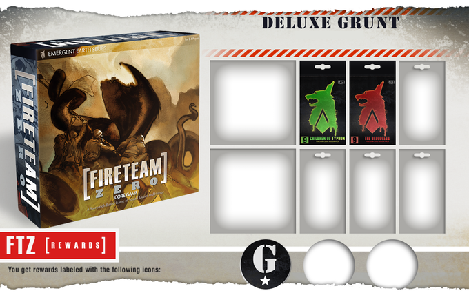 The Deluxe Grunt pledge level comes with any two Monster Packs of your choice!