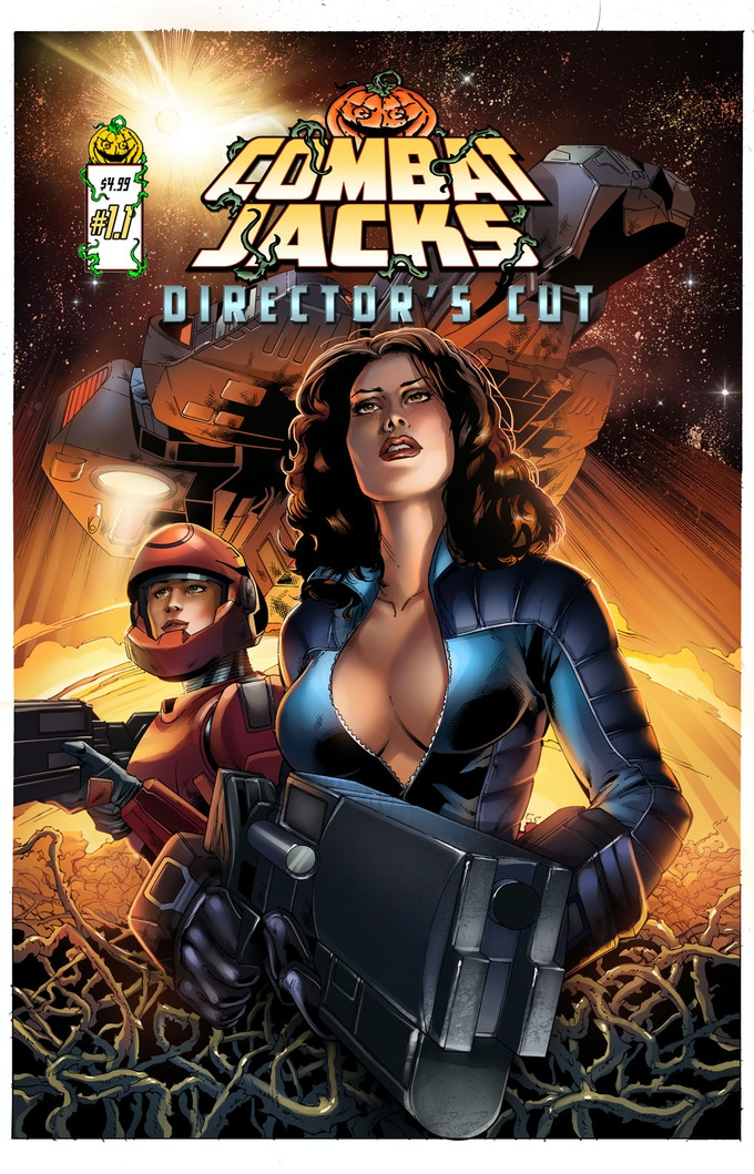 Combat Jacks #1.1 Directors Cut is a higher-quality 32-page version of the original.