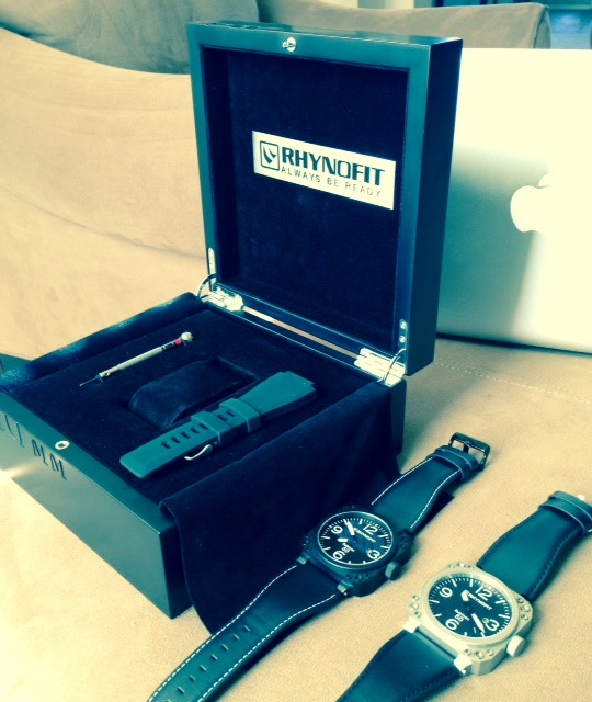 Rubicon Big 50 Aviation Inspired Automatic Watches By