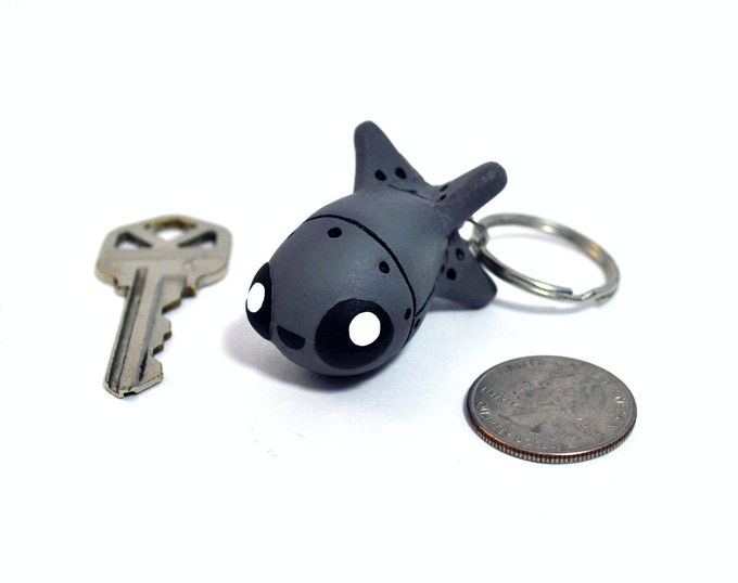 Baby Bomba Keychain / Handmade-Handpainted