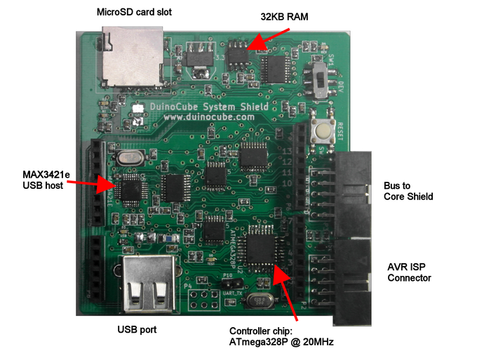 UI Shield for Uno/Mega detail