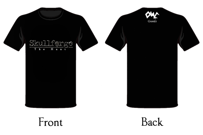 The proposed Skullforge shirt.