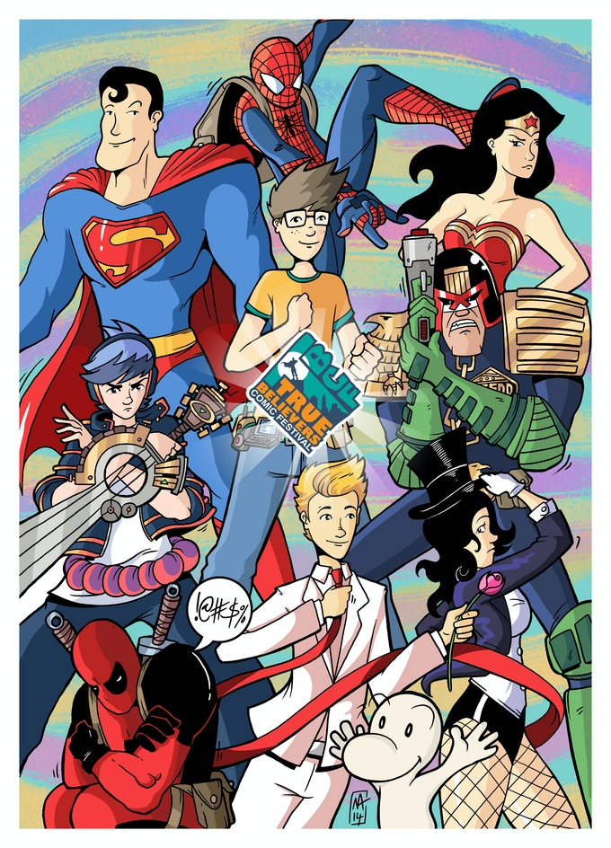 The Exclusive True Believers 2015 Print