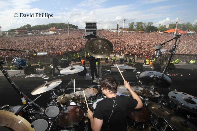 Ray Luzier - Korn ( Download Festival )