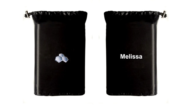 Airsafe Carryon Pouch can be personalized with your name embroidered on it.