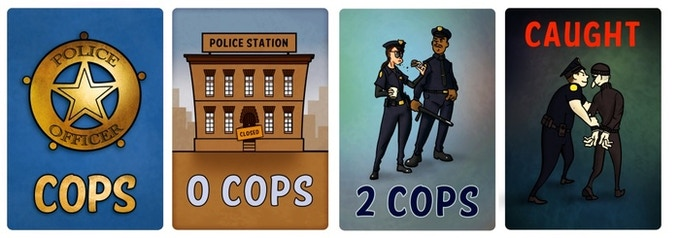 Some of the Cop Cards