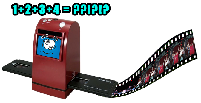 Automatic film scanners just can't handle the Nimslo's awesomeness...