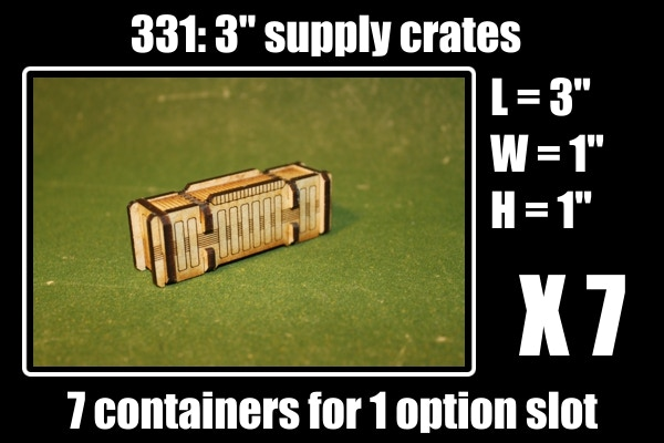 7 containers for 1 option slot