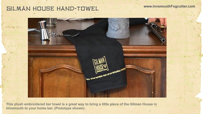 Hand-towel from the Gilman House