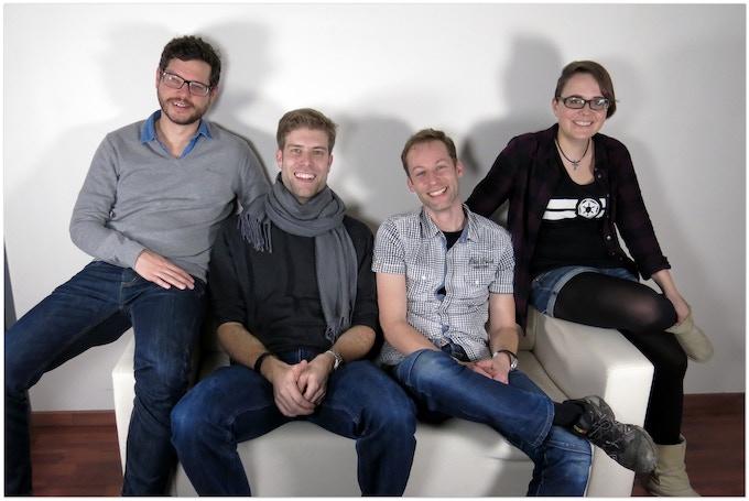 Peter, Olav, Daniel, Tabea