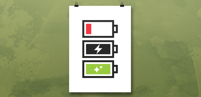 """The """"Charge Cycle"""" poster."""