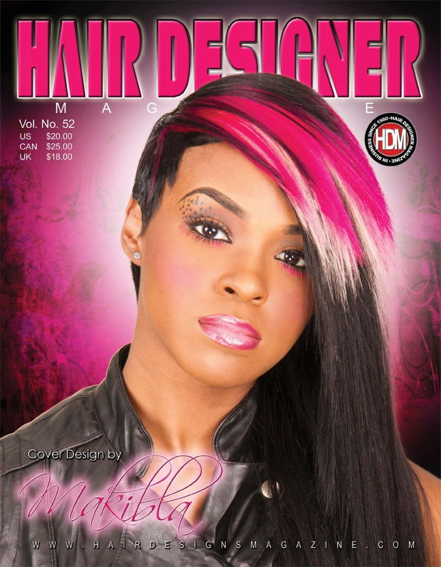 A piece of my story and Detroit! A Hair Designer Mag!