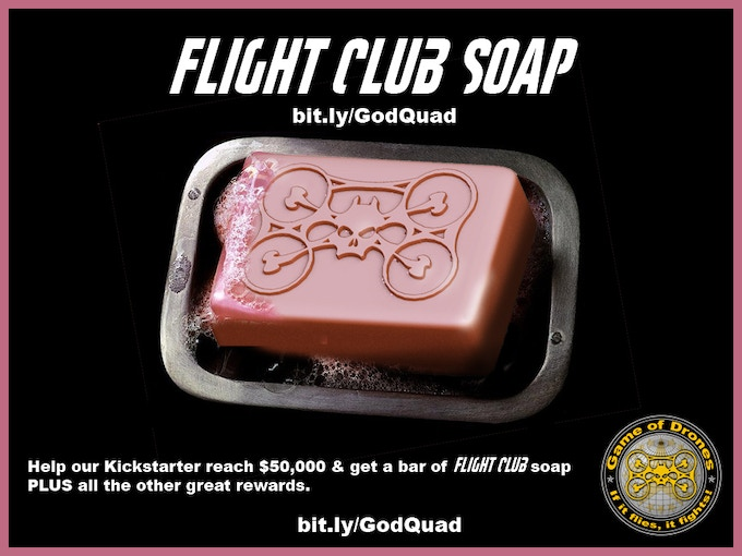 Help us reach $50k and get Flight Club soap