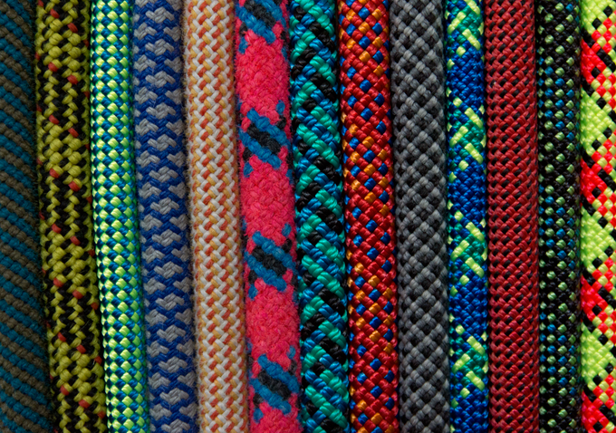 The variety of ropes, colors, and patterns is astonishing!