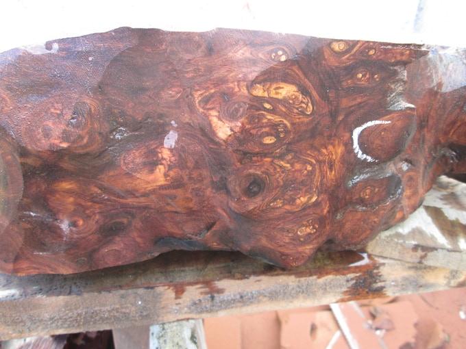 Honduran Rosewood Burl.