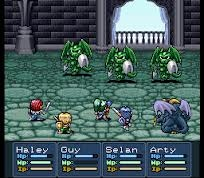 Lufia 2 gameplay