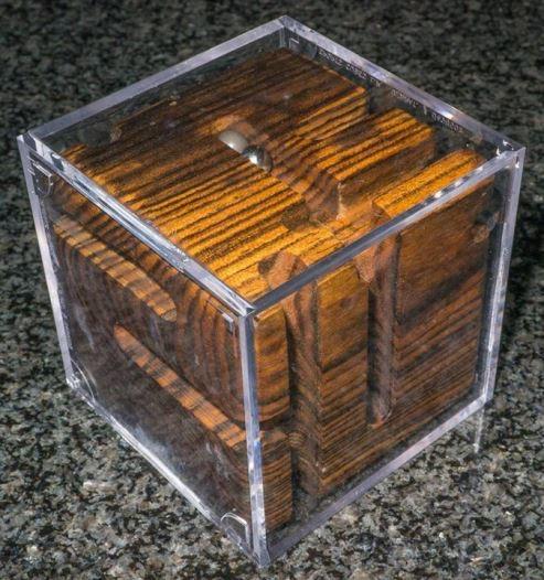 Bocote Revealed Maze. (Version 4)