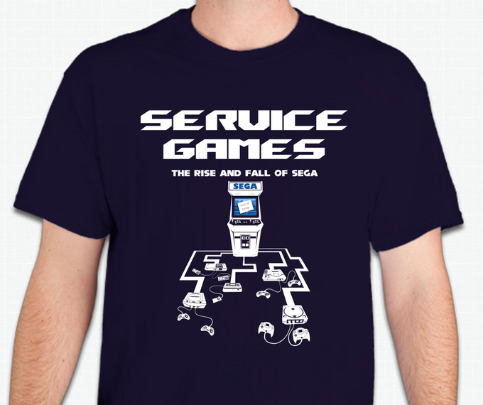 Add $20 to any reward level to get this awesome T-Shirt! (+$5 for international)
