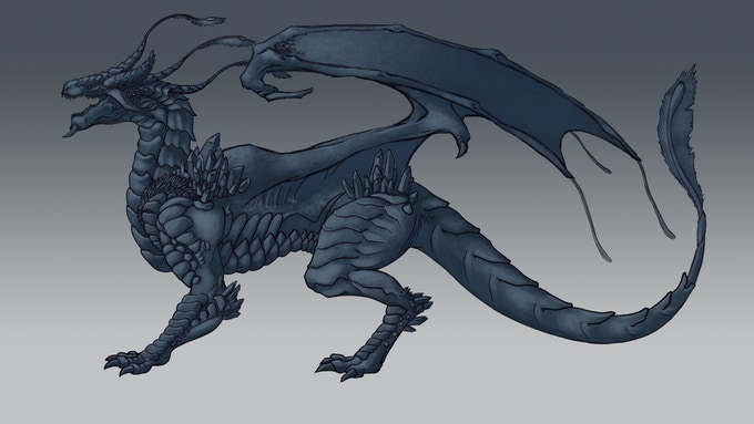 Concept Art: Lightning Dragon