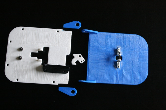 Early version of printed prototype