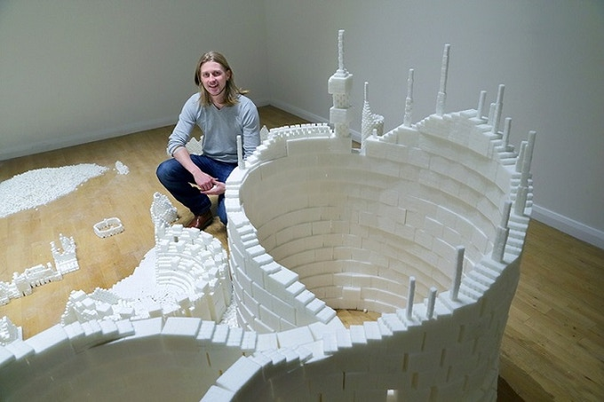 Sculptor Mark Revels in the Northern Version of Sugar Metropolis