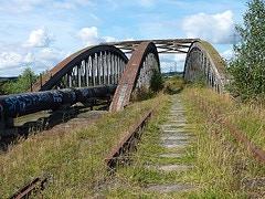 An abandoned railway bridge (Final Scene?...)