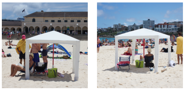 Cool Cabanas The World S Best Sun Shelter By Mark Fraser