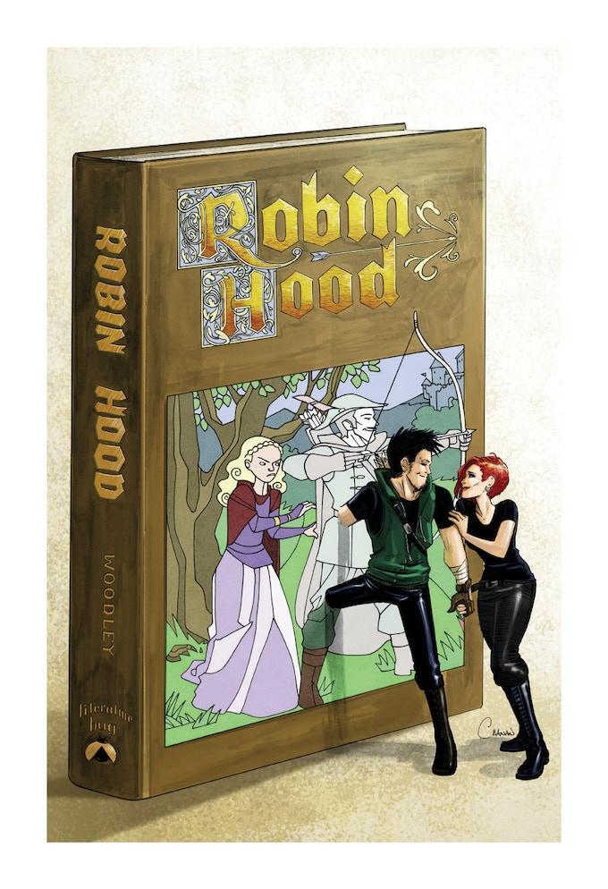 Robin Hood Print by Caanan Grall