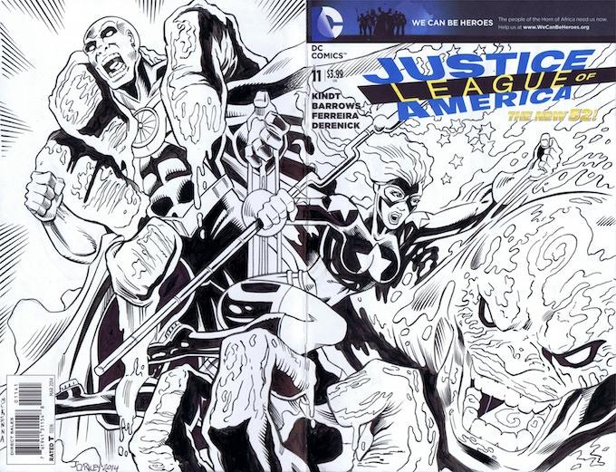 WWrap sketch cover by Jim O'Riley and Mark Mckenna