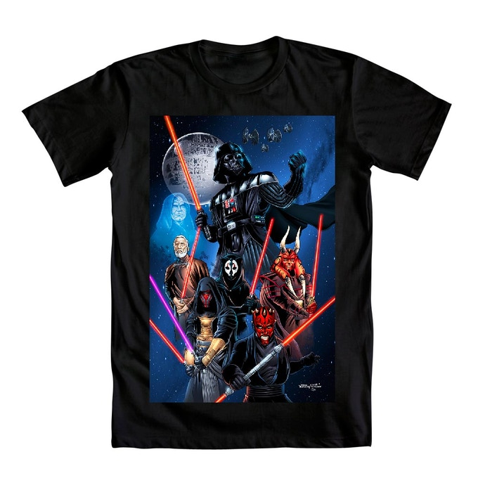 Star Wars: Legacy of the Sith tee at the $30 pledge