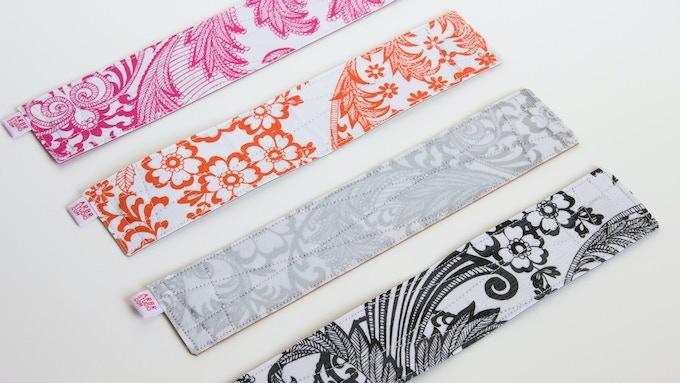 Back side oilcloth patterns.