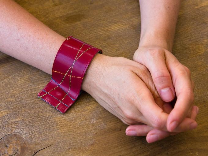 Wear it on your wrist as a bracelet.