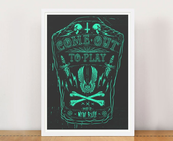 PRINT PACKAGE 1 - Come Out To Play A3 giclee print