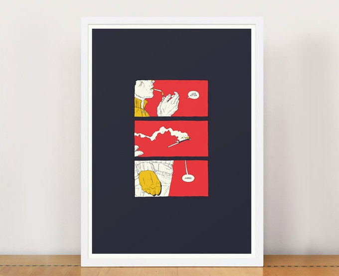 PRINT PACKAGE 2 - BONEFACE A3 giclee print