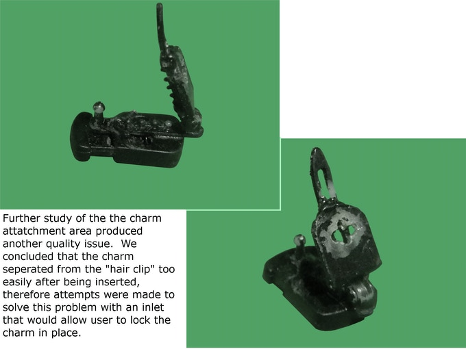 charm 'twist and lock' connection study model