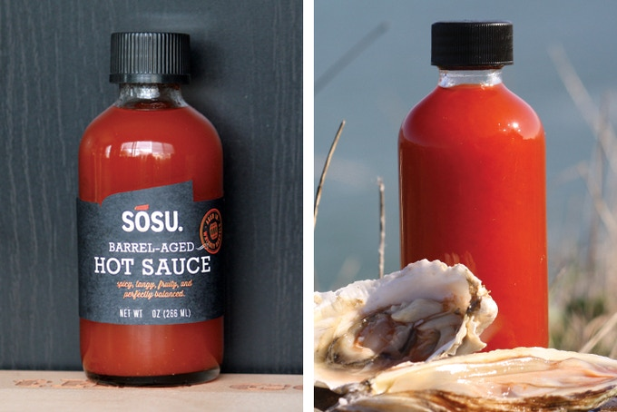Oysters not included, but a good pairing with the hot sauce!