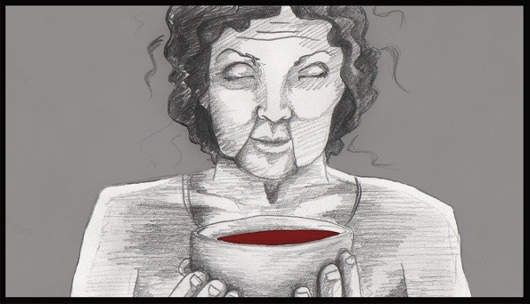 Sneak Peek at Audrey's cannibal character from our storyboard.