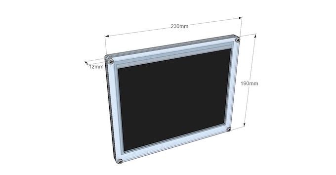 Case dimensions