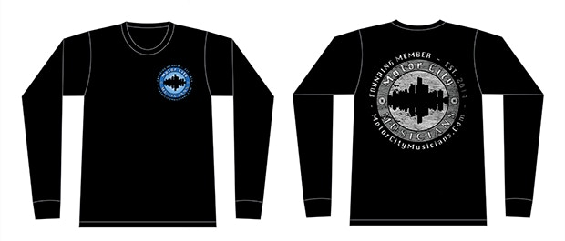 Long sleeve T-shirt example